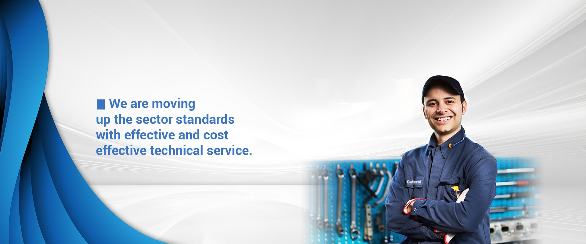 Cuteral technical services and spare parts